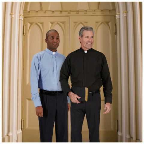 234 Comfort Long Sleeve Clergy Shirt