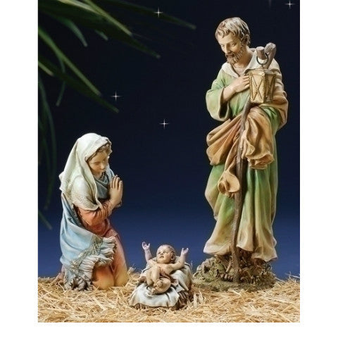 "Colored Nativity Collection - 27"" Scale"