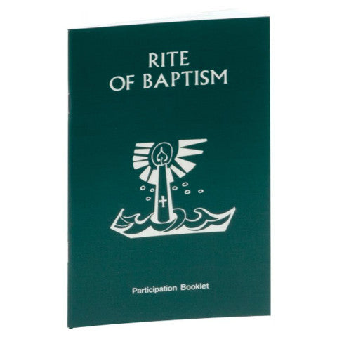 Rite of Baptism Booklet - No. 80/04
