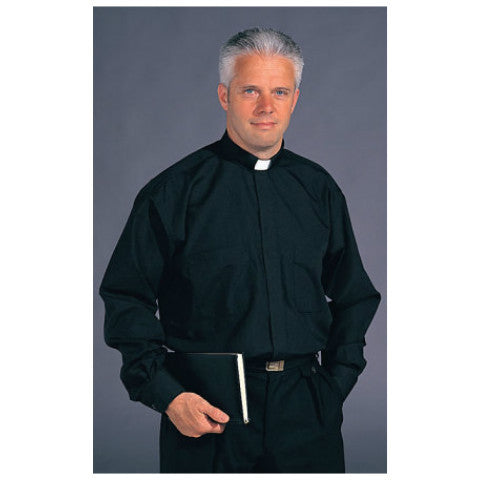 #813 Tradicio Stadelmaier Extra Long Sleeve Clerical Shirt by Slabbinck