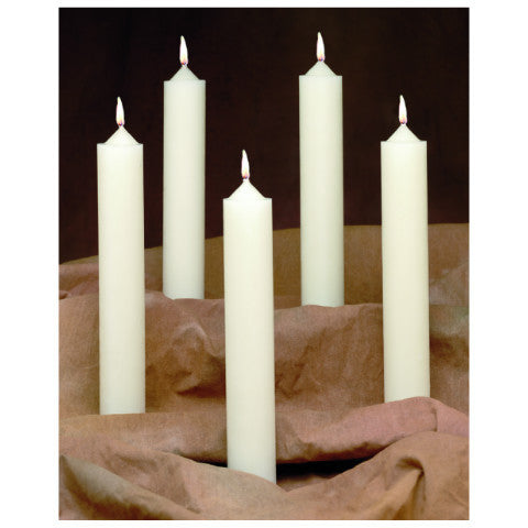 Table Altar 51% Beeswax Candles Emkay Brand