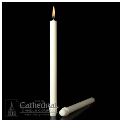 Long Burning 51% Beeswax Candles