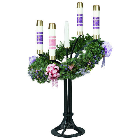 3925 advent wreath advent wreaths metalware sacred. Black Bedroom Furniture Sets. Home Design Ideas