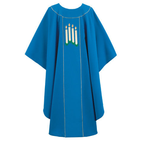 Blue Chasuble G66546A