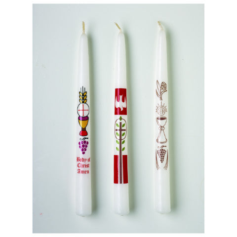 Body of Christ First Communion Candle