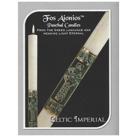 Celtic Imperial Paschal Candle