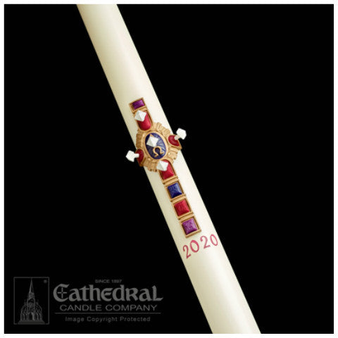 Christ Victorious Paschal Candle