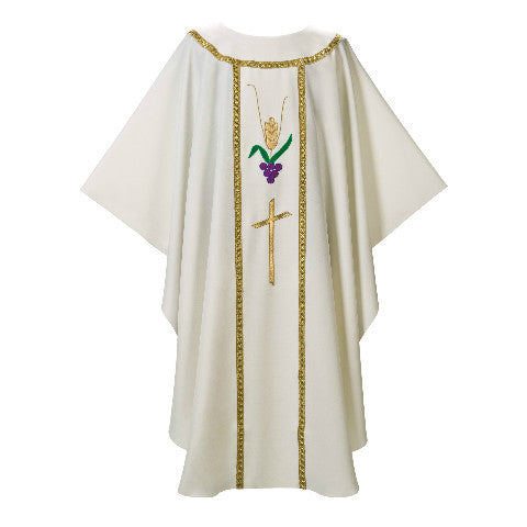 Cream Chasuble G70584A