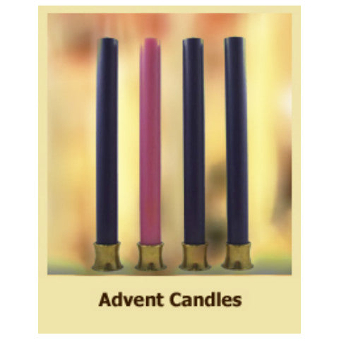 Dadant 51% Beeswax Solid Advent Candles