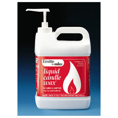 Emitte Liquid Candle Wax 2-1/2 Gallons