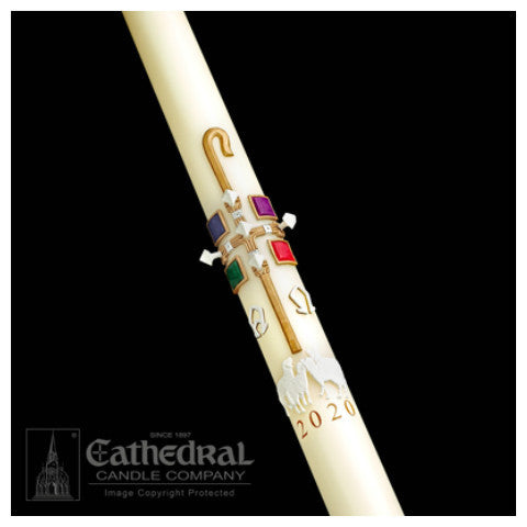 The Good Shepherd Paschal Candle