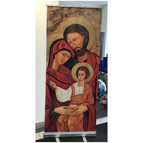 Holy Family Icon Stand-127
