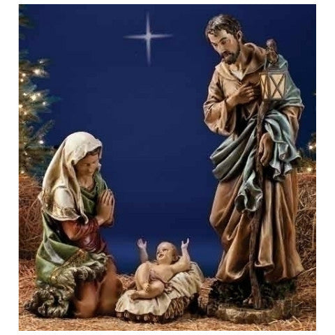 "Colored Nativity Collection - 39"" Scale"