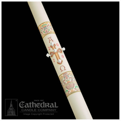 Investiture Paschal Candle