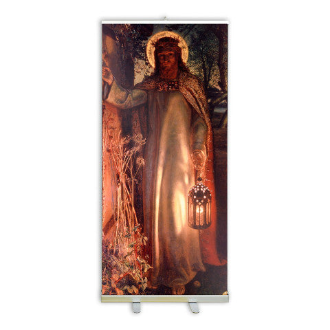 Light of the World Banner Stand - 847