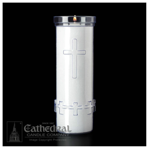 Memorial Candle Refill (Plastic Container)