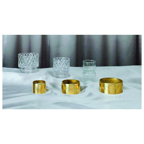 Brass Followers for Emitte Liquid Candles
