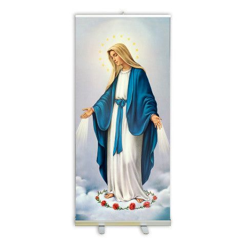 Our Lady of Grace Banner Stand - 70