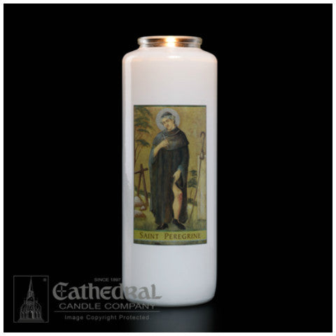 St. Peregrine Sacred Image Lights and Globes