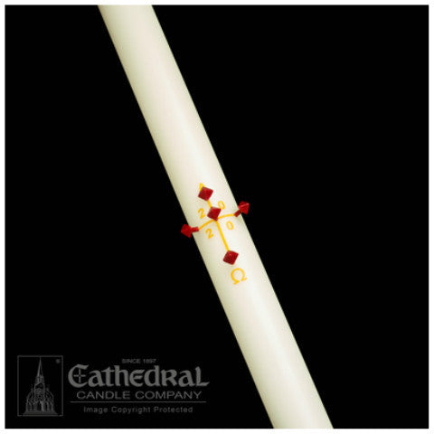 Plain/Blank Paschal Candle