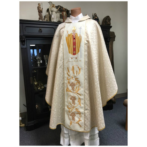 Saint John Paul II Chasuble