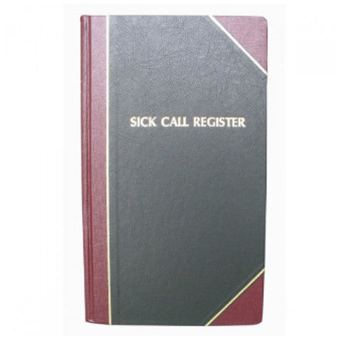 Sick Calls Register - Standard Edition