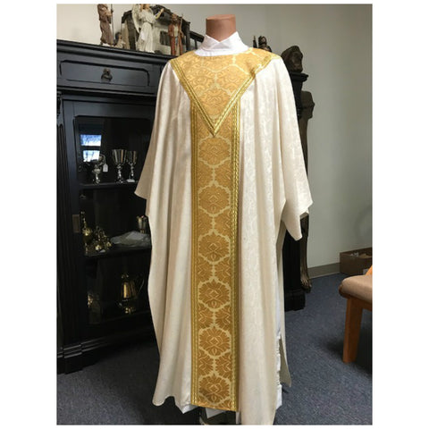 Slabbinck White & Gold Dalmatic
