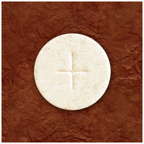 "White 1-3/8"" Altar Bread"