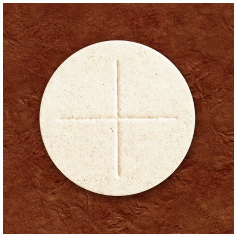 "White 2-3/4"" Altar Bread"