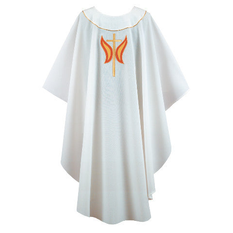 White Chasuble G68309A