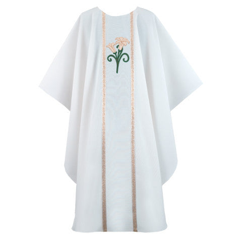 White Chasuble G68319A