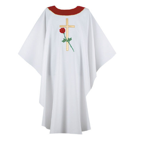 White Chasuble G69909A