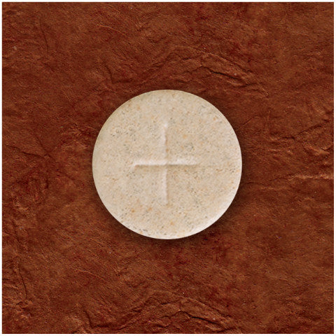 "Whole Wheat 1-1/8"" Altar Bread"