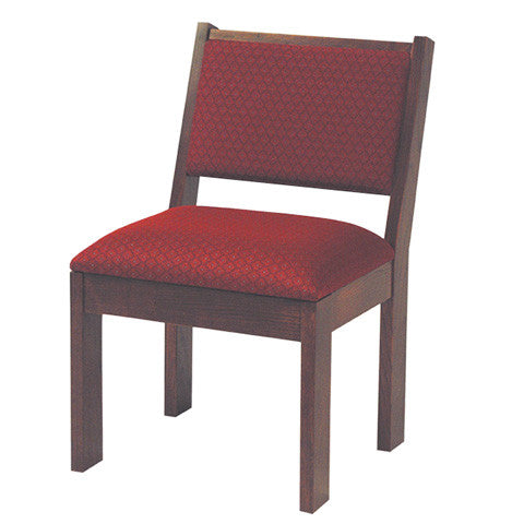 223 Wooden Chair with Seat Cushion