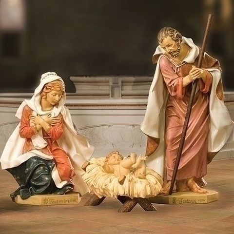 "Fontanini Holy Family Set 50"" Scale"