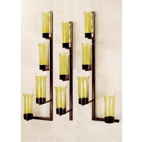 11VL11 Wall Votive Set