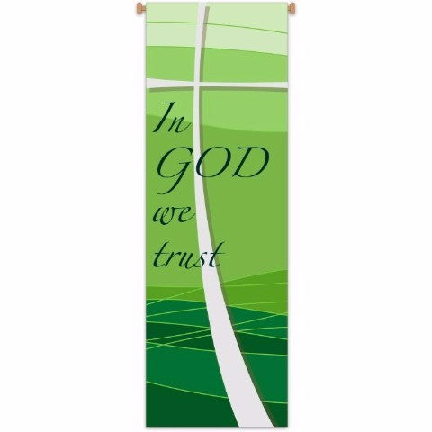 "Slabbinck 7502 ""In God We Trust""  Banner"