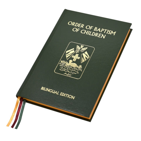 **PRE-ORDER** Rite of Baptism for Children - Bilingual - No. 138/22