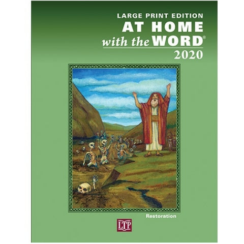 At Home with the Word 2020 Large Print