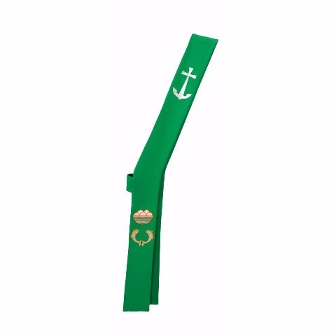 T68325A Green Deacon Stole