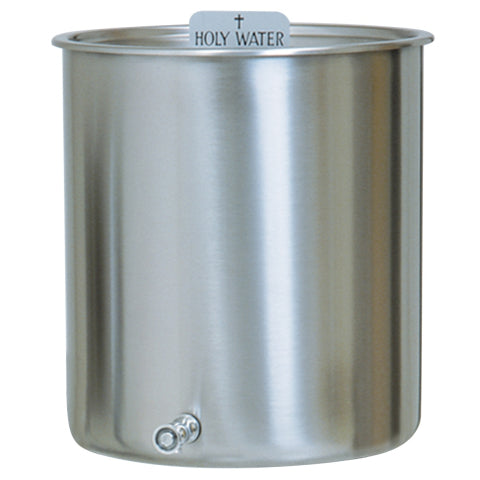 K447 Stainless Steel Holy Water Tank