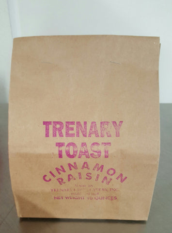 Cinnamon Raisin Trenary Toast
