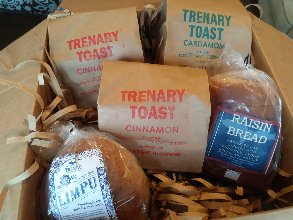 Yooper Bread Box Trenary Home Bakery