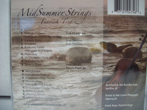 CD MidSummer Strings, Finnish Trio