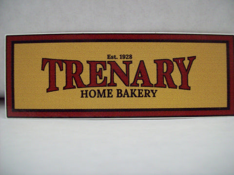 Trenary Home Bakery Logo Sticker