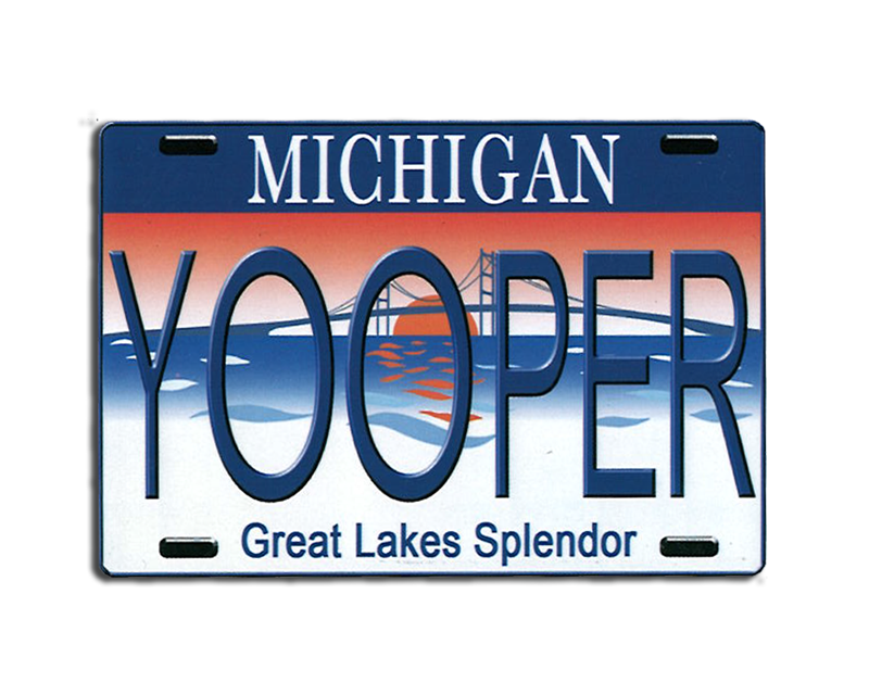Michigan Yooper Magnet