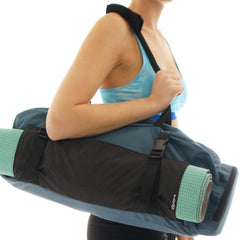 Yoga Mat Gym Bag + Harness Mat Carrier - SISYAMA