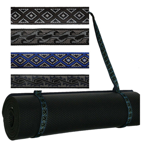 Embroidered Yoga Pilates Mat Sling Strap - SISYAMA