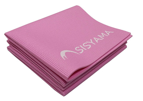 SISYAMA Folding Yoga Mat Thick Girls Kids Pink Eco-Friendly Travel Non Slip Chinese Zodiac Foldable KNEE PAD - SISYAMA