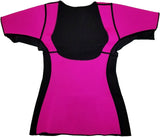 Sisyama Neoprene Weight Loss Sauna Sweat Hot Long/Short Sleeves Shirt Top Slimming Suit Thumb Hole Workout Exercise - SISYAMA